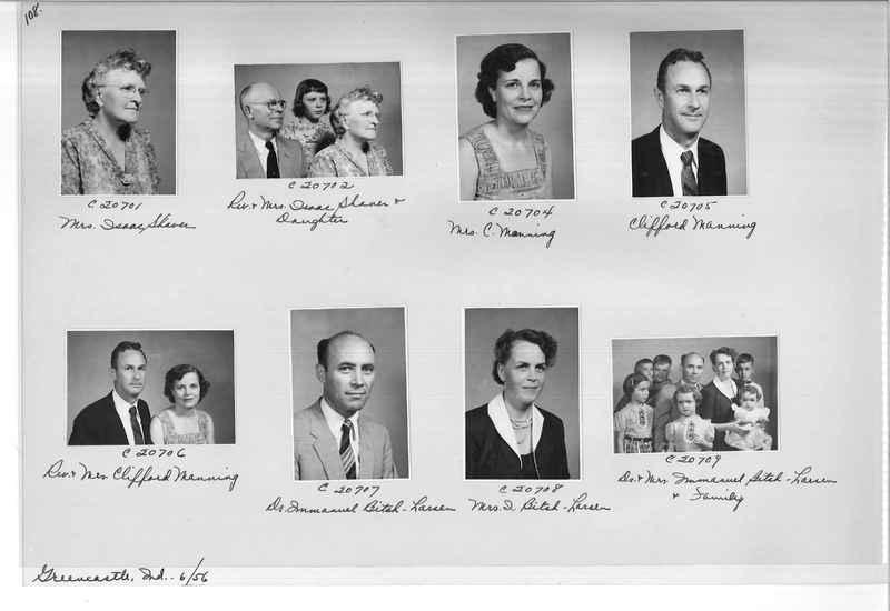 Mission Photograph Album - Portraits #09 Page 0108