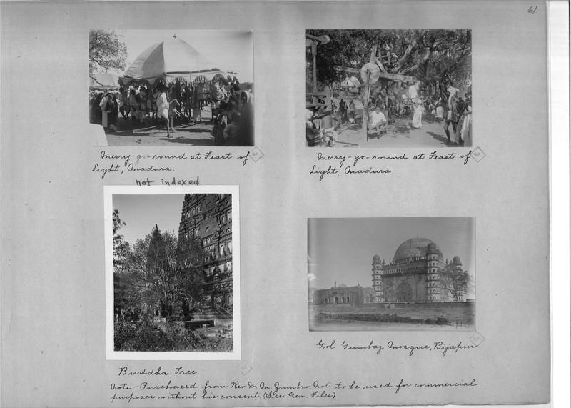 Mission Photograph Album - India - O.P. #02 Page 0061