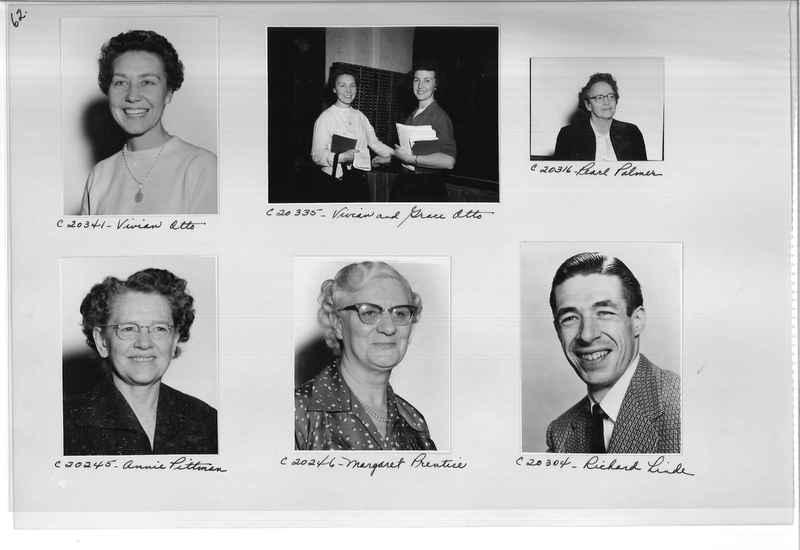 Mission Photograph Album - Portraits #09 Page 0062