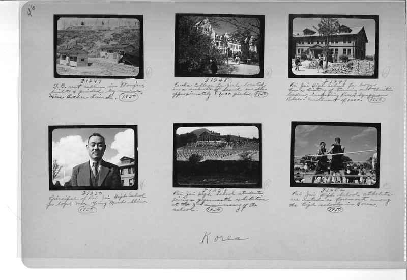 Mission Photograph Album - Korea #6 page 0046