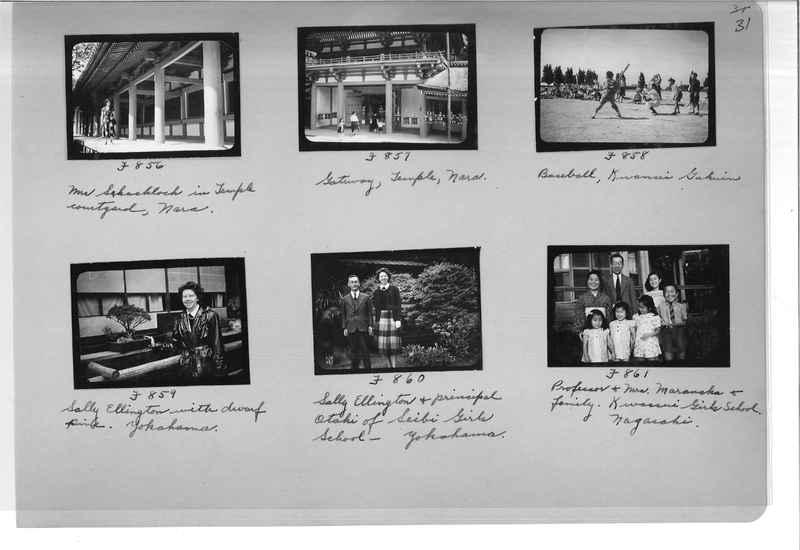 Mission Photograph Album - Japan #07 Page 0031