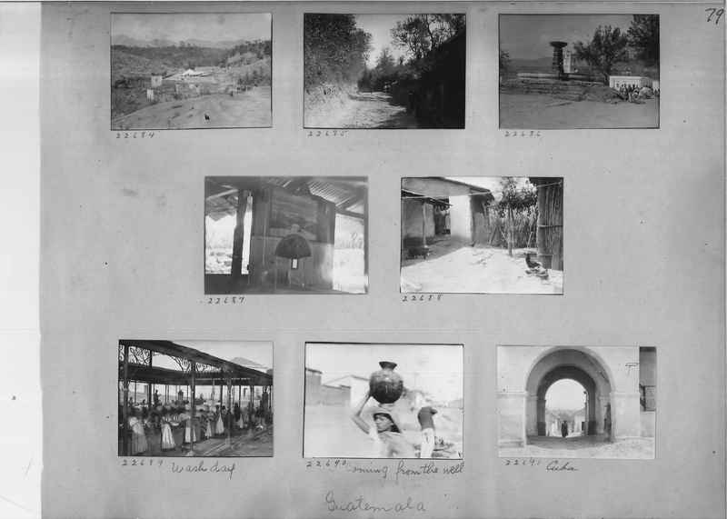 Mission Photograph Album - Panama #02 page 0079