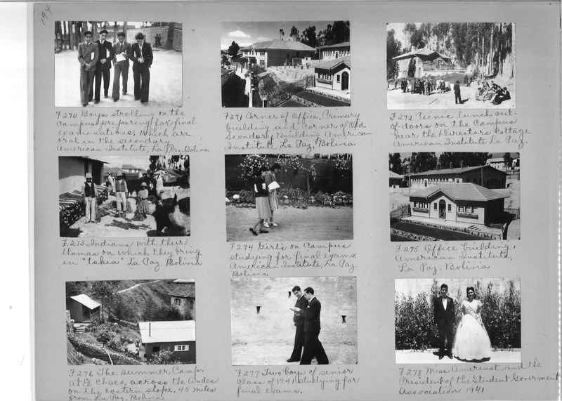 Misson Photograph Album - South America #8 page 0194