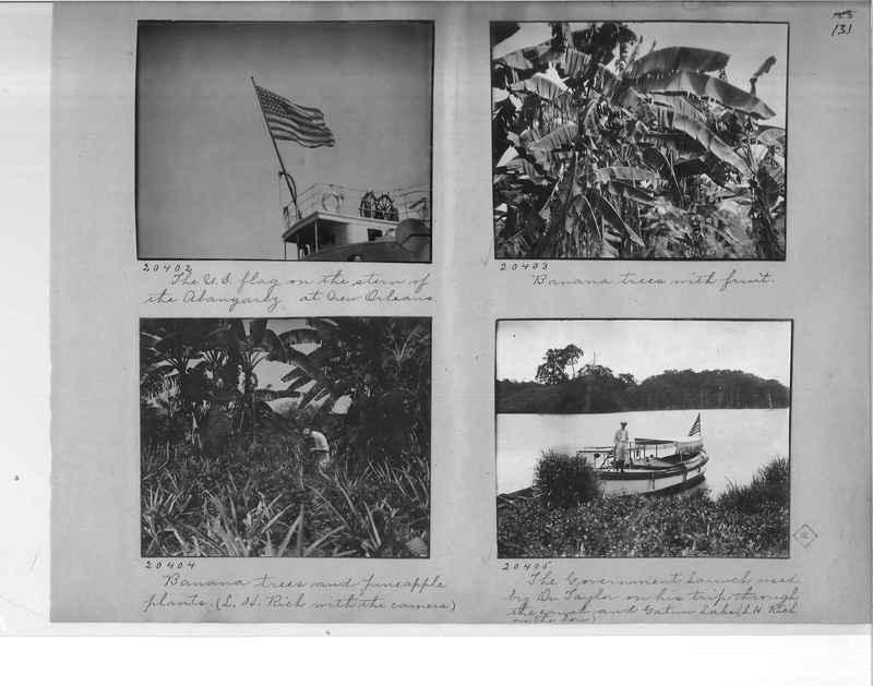 Mission Photograph Album - Panama #1 page  0131