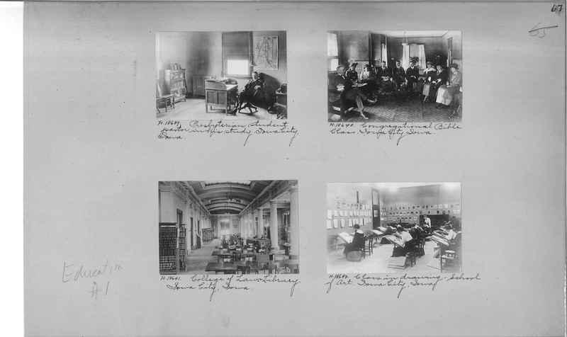 Mission Photograph Album - Education #1 page 0067