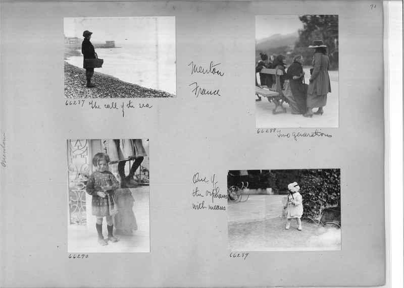 Mission Photograph Album - Europe #05 Page 0071