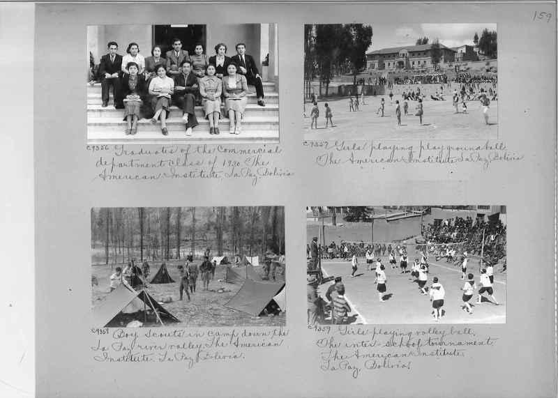Misson Photograph Album - South America #8 page 0159