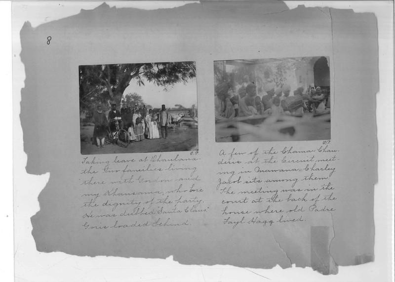 Mission Photograph Album - India - O.P. #02 Page 0008