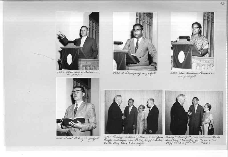 Mission Photograph Album - Portraits #12 Page 0033