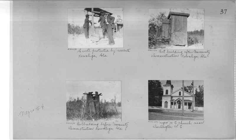Mission Photograph Album - Negro #4 page 0037