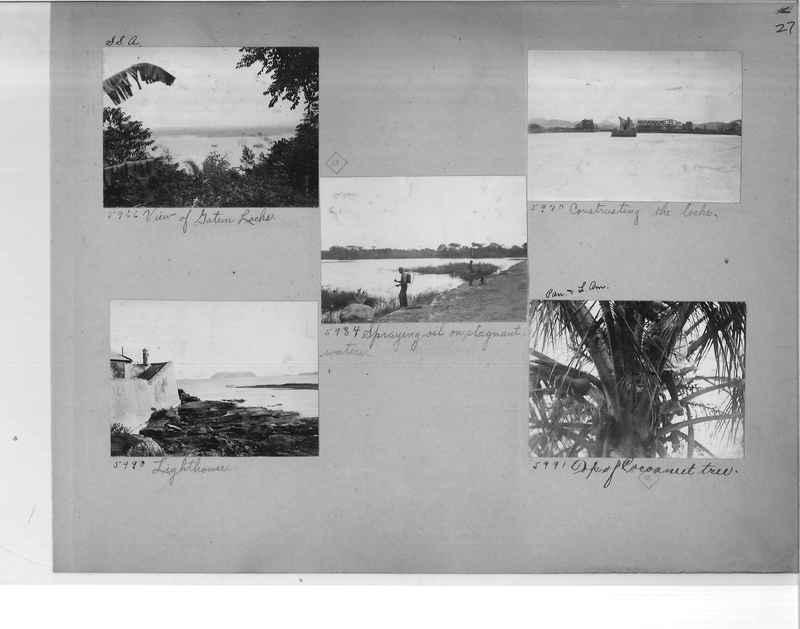Mission Photograph Album - Panama #1 page  0027