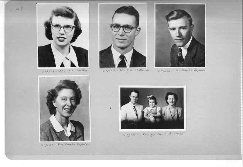 Mission Photograph Album - Portraits #07 Page 0128