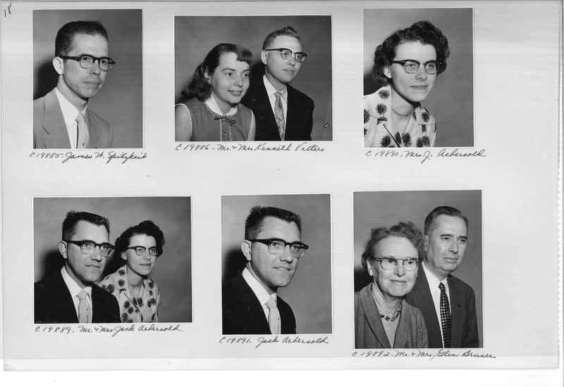 Mission Photograph Album - Portraits #09 Page 0018