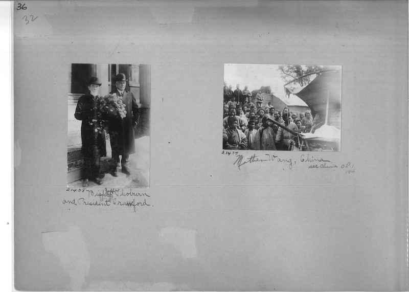 Mission Photograph Album - Portraits #1 page 0036