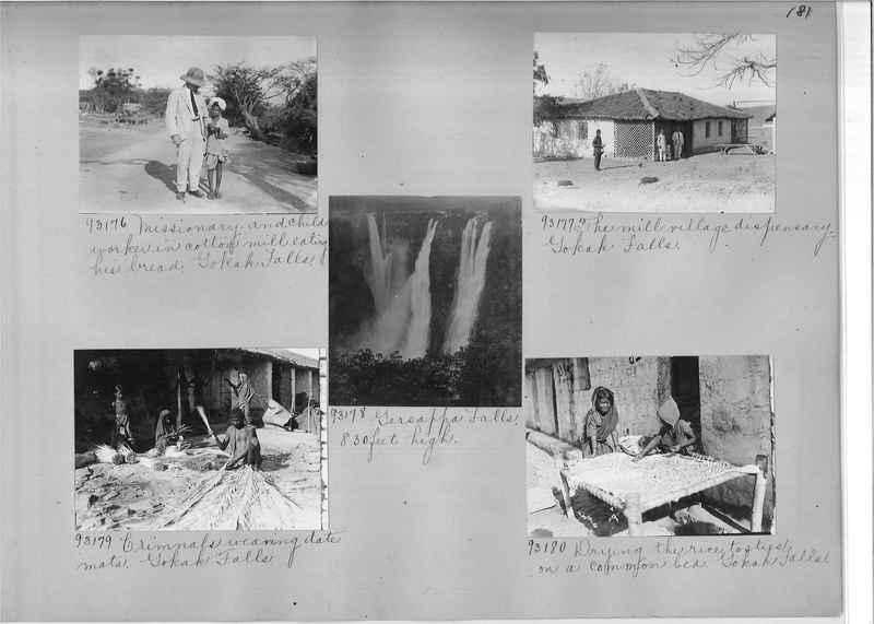 Mission Photograph Album - India #10 Page 0181