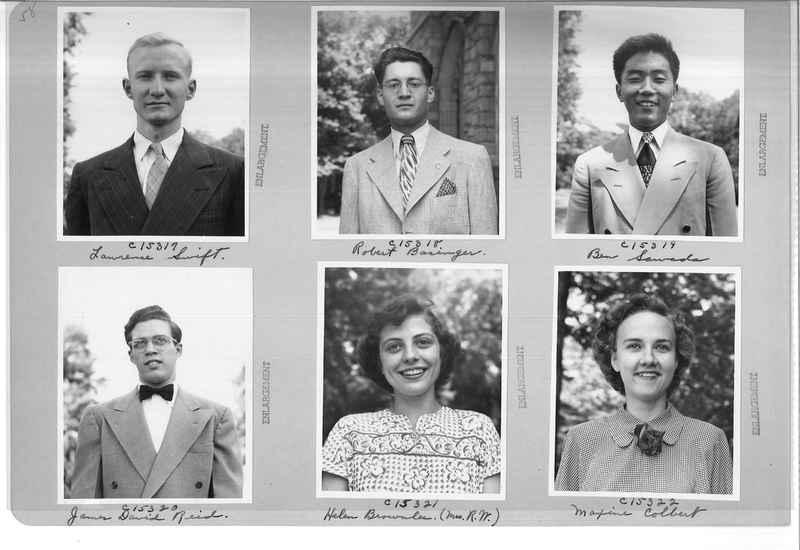 Mission Photograph Album - Portraits #07 Page 0058