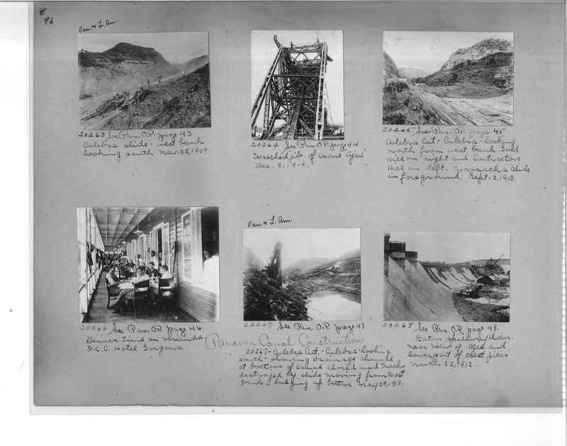 Mission Photograph Album - Panama #1 page  0096