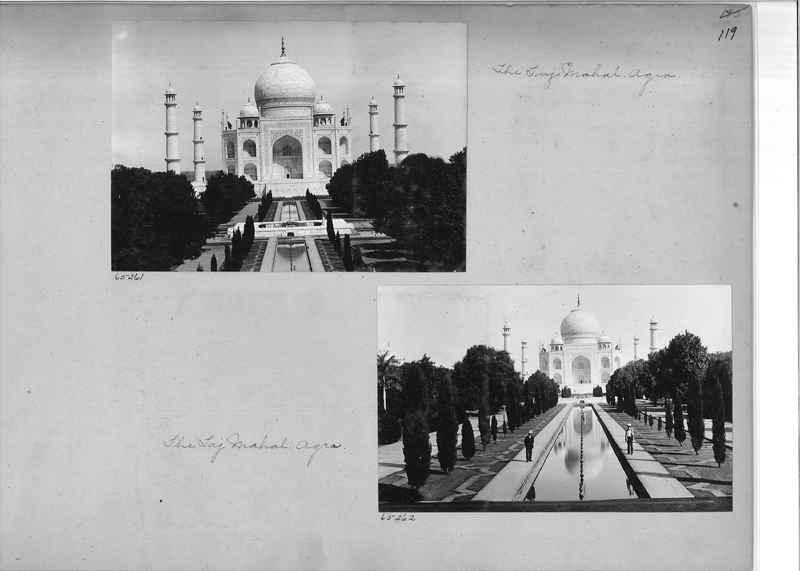 Mission Photograph Album - India #08 Page 0119