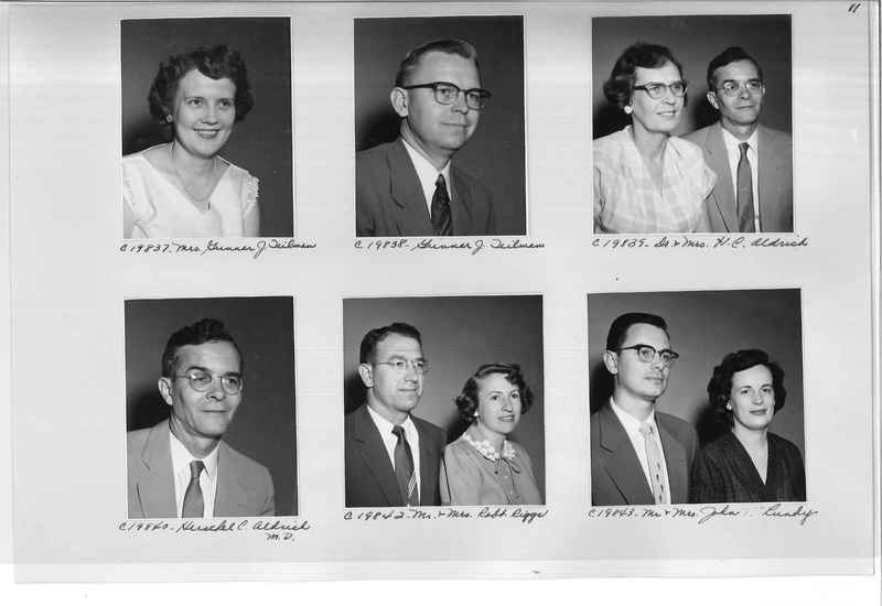 Mission Photograph Album - Portraits #09 Page 0011