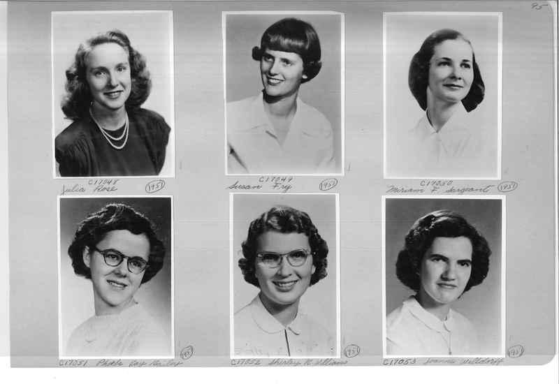 Mission Photograph Album - Portraits #07 Page 0095