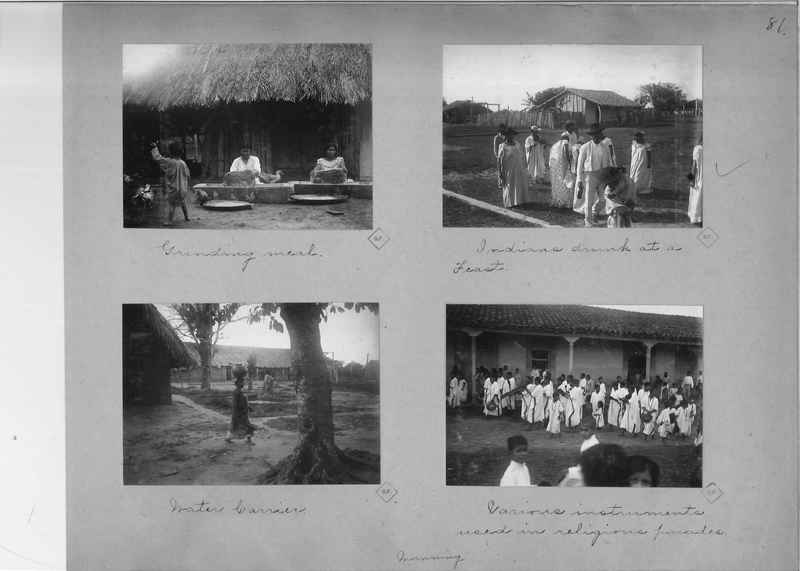 Mission Photograph Album - South America O.P. #1 page 0081