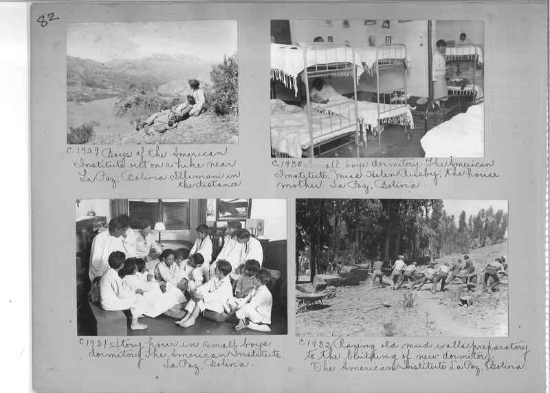Misson Photograph Album - South America #8 page 0082