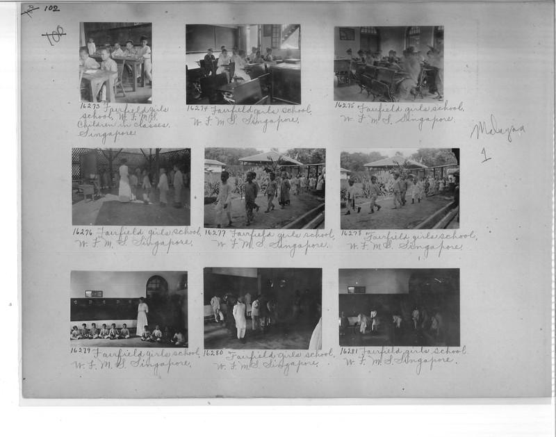 Mission Photograph Album - Malaysia #1 page 0102