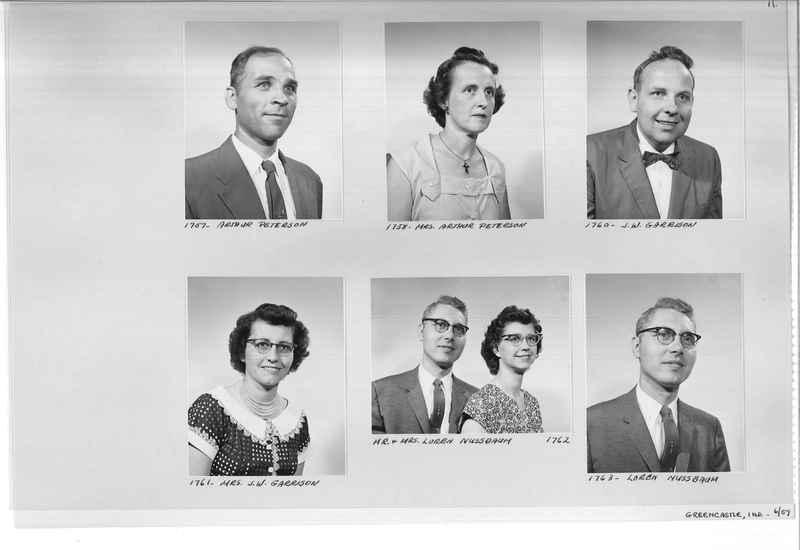 Mission Photograph Album - Portraits #12 Page 0011