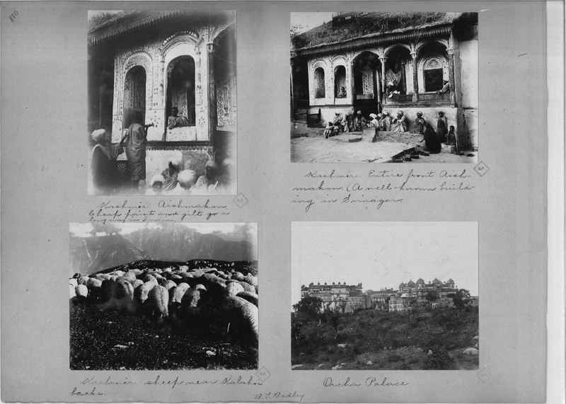 Mission Photograph Album - India - O.P. #02 Page 0110