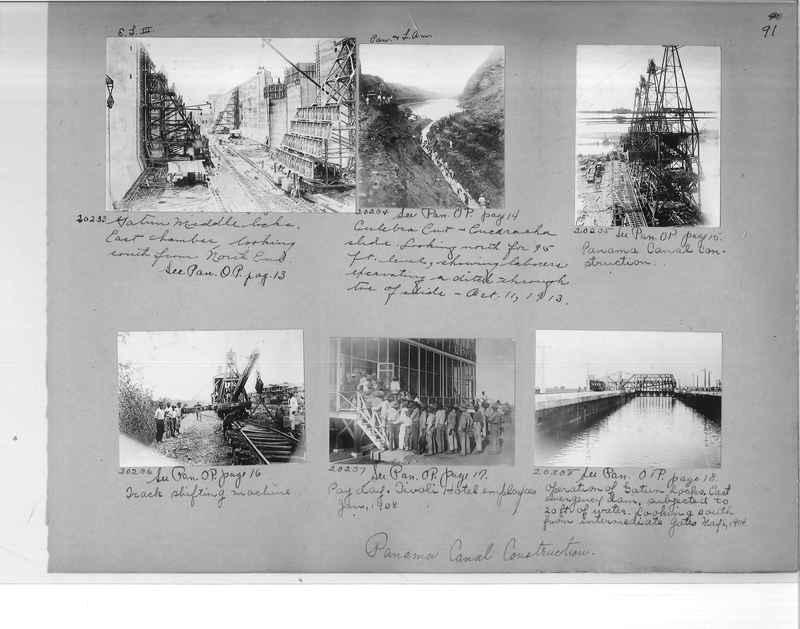Mission Photograph Album - Panama #1 page  0091