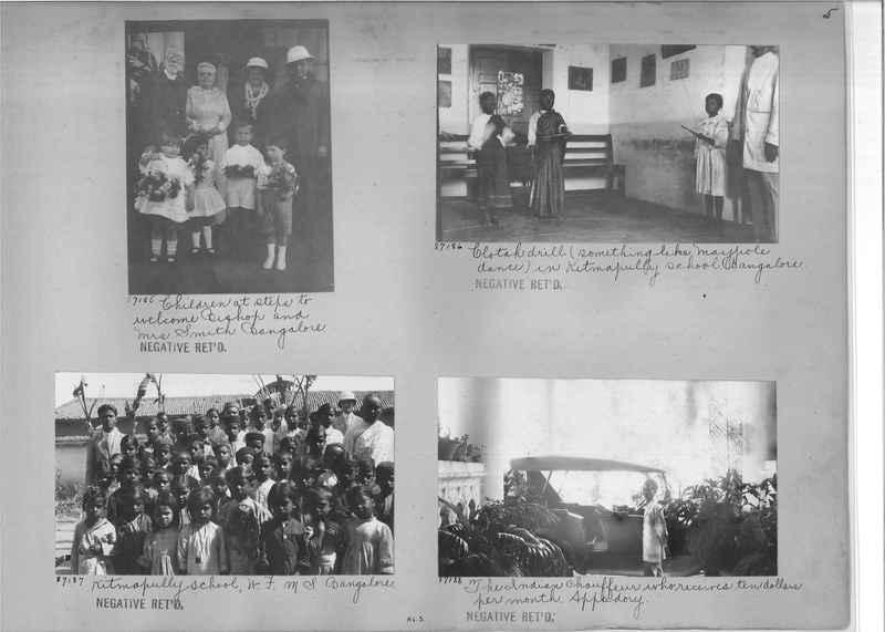 Mission Photograph Album - India #10 Page 0005