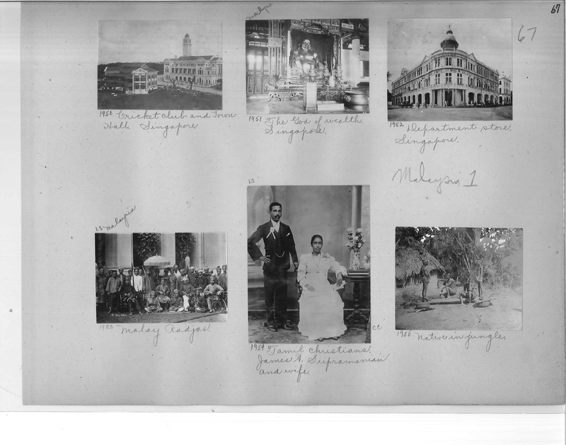 Mission Photograph Album - Malaysia #1 page 0067