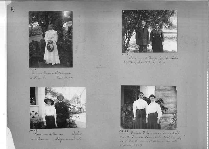 Mission Photograph Album - Portraits #1 page 0004