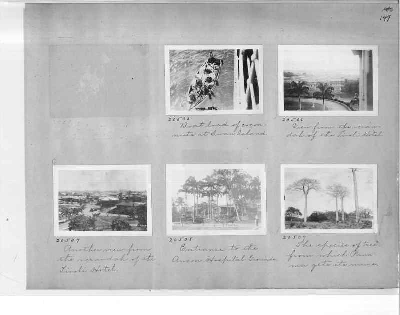 Mission Photograph Album - Panama #1 page  0149