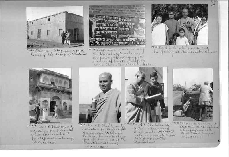 Mission Photograph Album - India #14 Page 0019