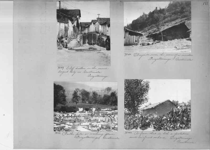 Mission Photograph Album - Panama #04 page 0111