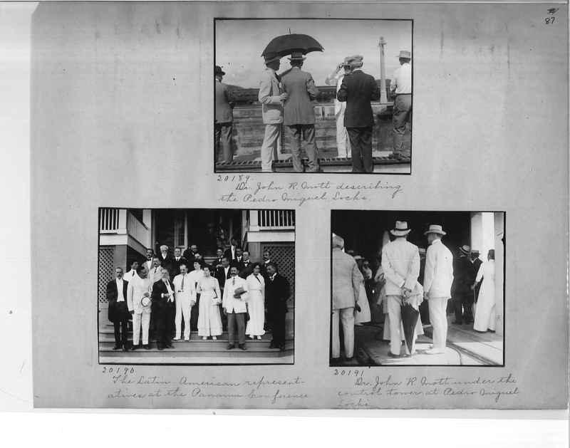 Mission Photograph Album - Panama #1 page  0087
