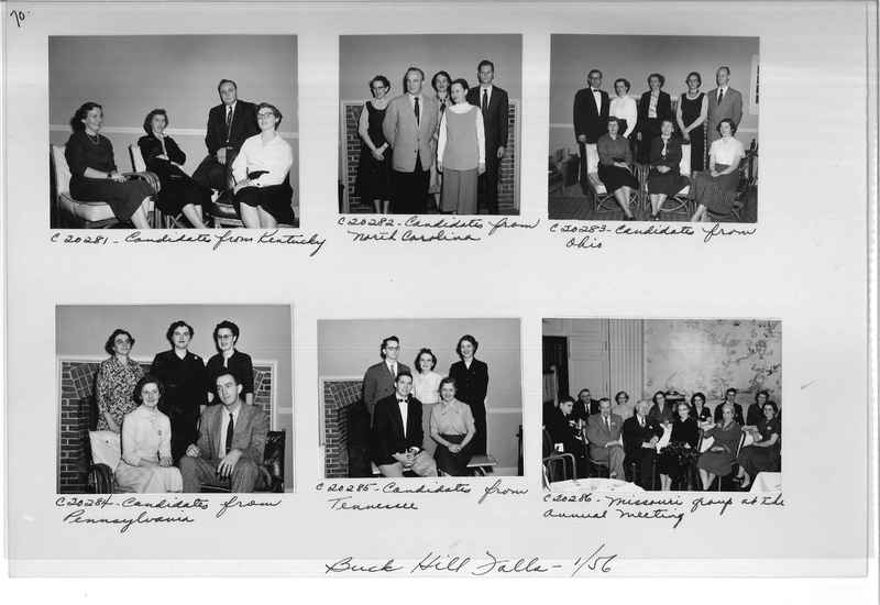 Mission Photograph Album - Portraits #09 Page 0070