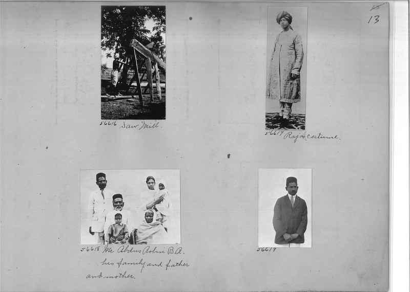 Mission Photograph Album - India #08 Page 0013