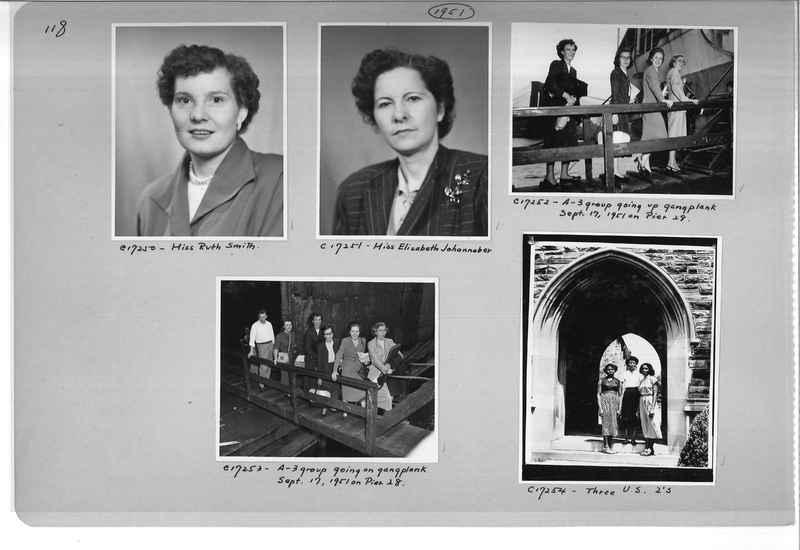 Mission Photograph Album - Portraits #07 Page 0118