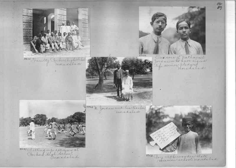 Mission Photograph Album - India #10 Page 0087