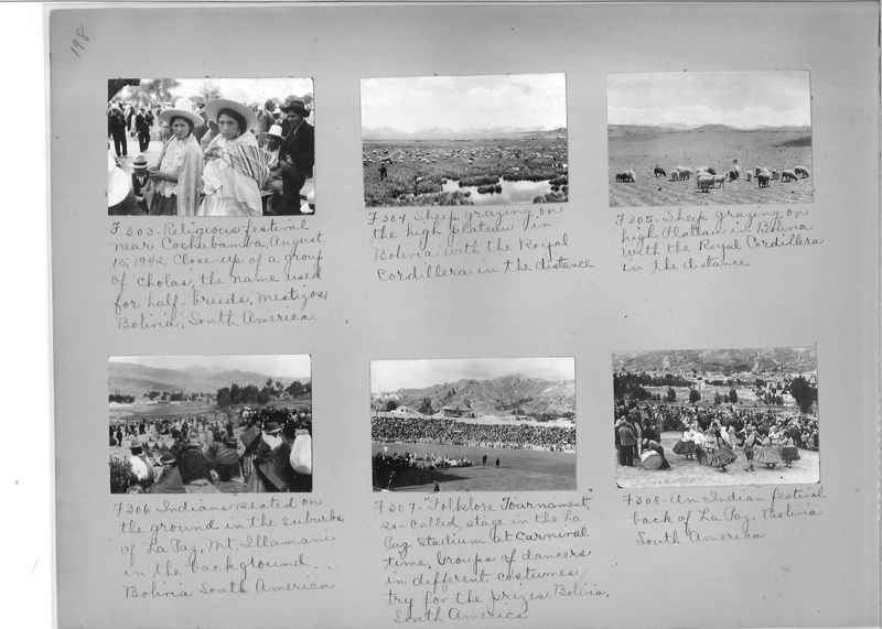 Misson Photograph Album - South America #8 page 0198