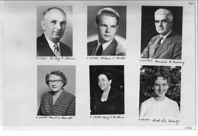 Mission Photograph Album - Portraits #09 Page 0145