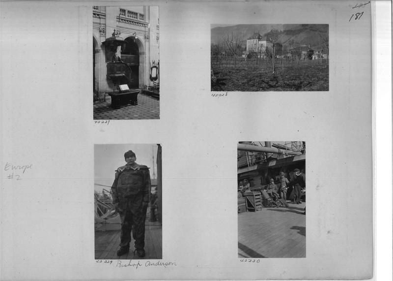 Mission Photograph Album - Europe #02 Page 0181