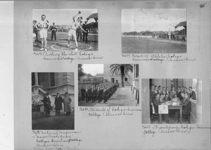 Misson Photograph Album - South America #8 page 0035