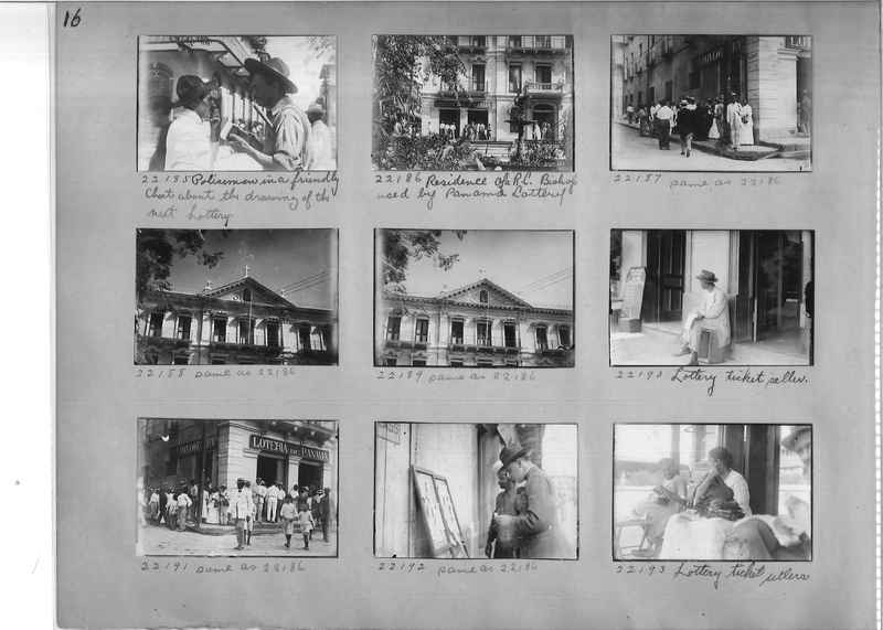 Mission Photograph Album - Panama #02 page 0016