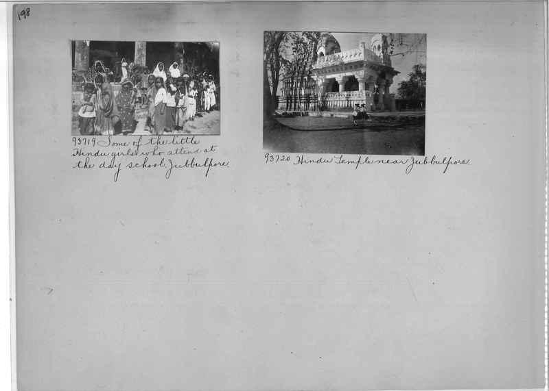 Mission Photograph Album - India #10 Page 0198