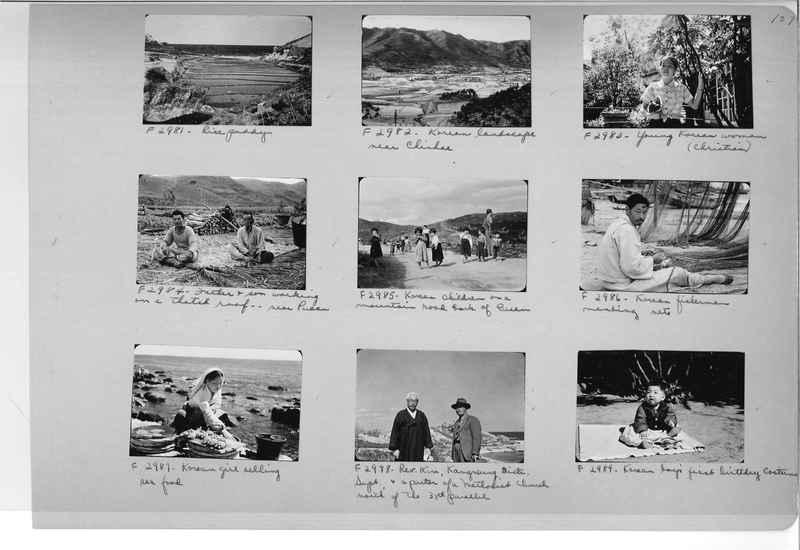 Mission Photograph Album - Korea #6 page 0107