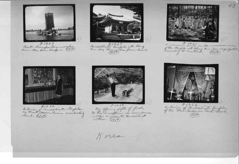 Mission Photograph Album - Korea #6 page 0043