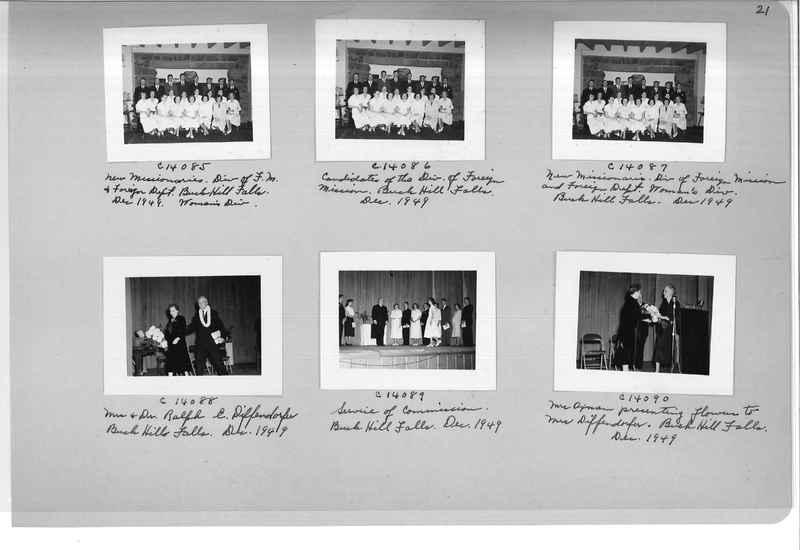 Mission Photograph Album - Portraits #07 Page 0021
